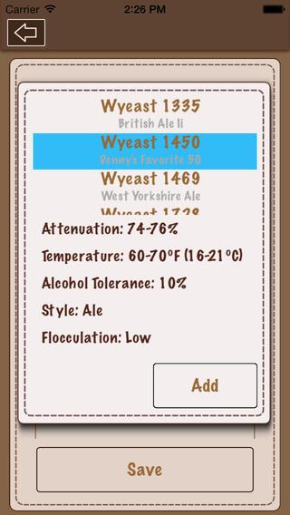 Beer Recipe Calculator