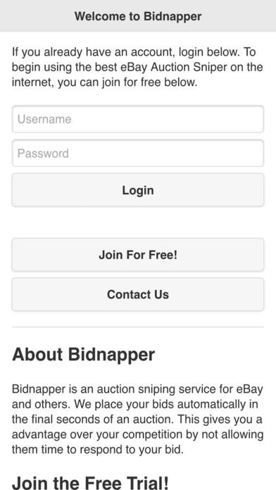 Bidnapper