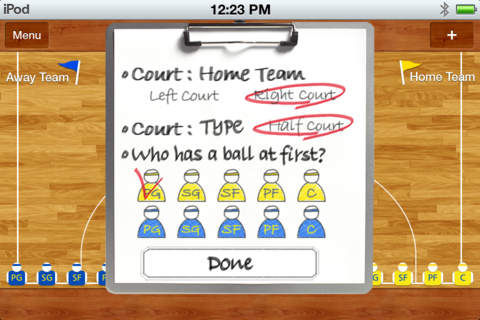 Basketball Coach Board: Lite Version
