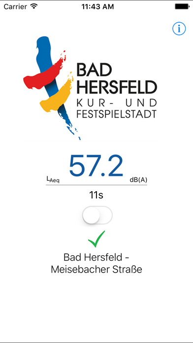 Bad Hersfeld Smart City - Lärmmessung