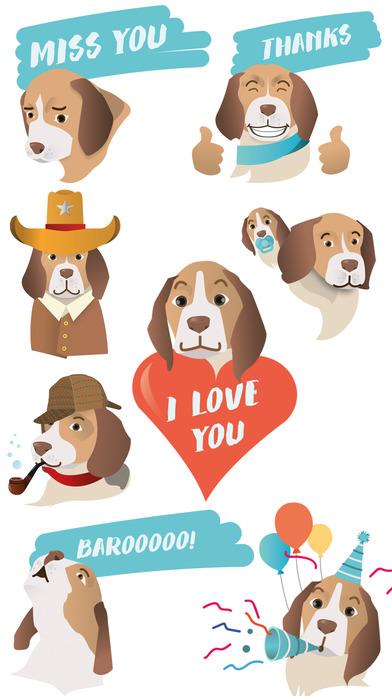 BeagleMoji - Beagle Emojis and Stickers