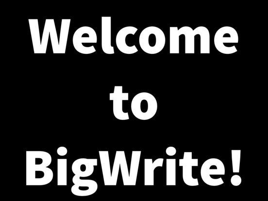 BigWrite