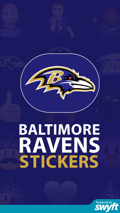 Baltimore Ravens Stickers