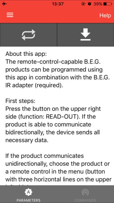 B.E.G. LUXOMAT® Remote control
