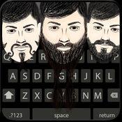Beardmoji Emoji - Beard Emojis  Emoticon Stickers