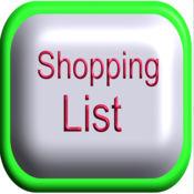 Big Font Shopping List 1