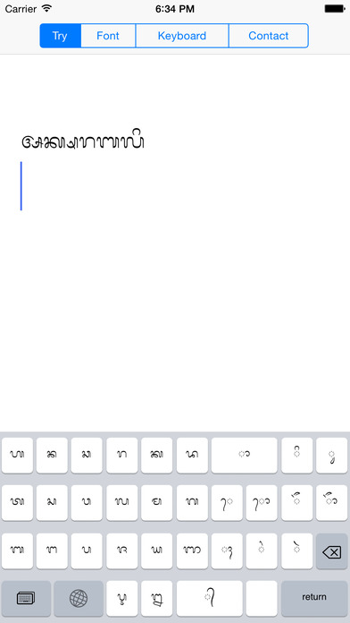 Balinese Font and Keyboard