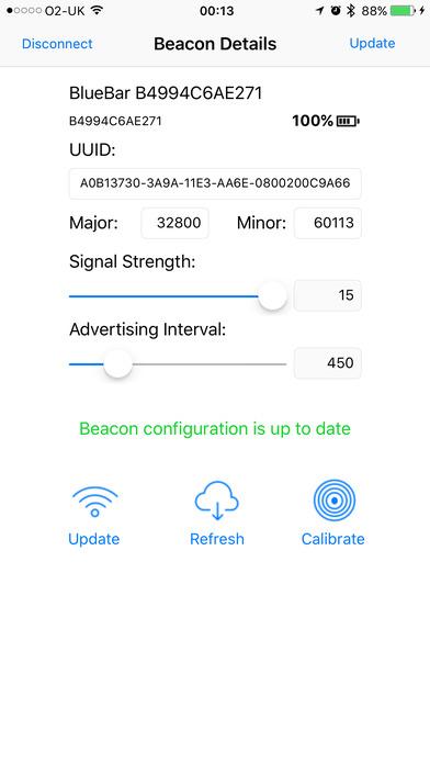 Beacon Configuration Utility
