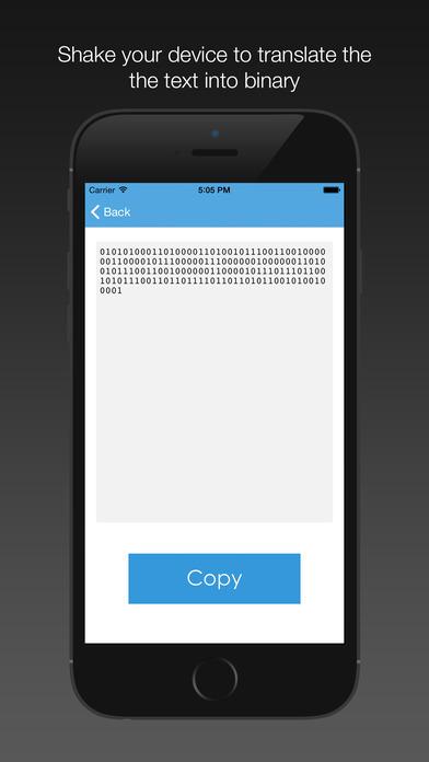 Binarrator - A text to binary translator
