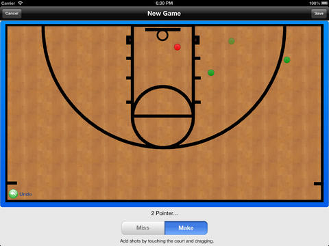 Basketball Shot Logger