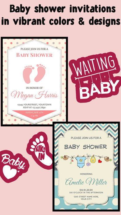 Baby Shower Invitation Cards Free