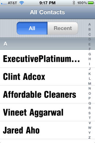 BIG Contacts - Large Font for Easier Reading