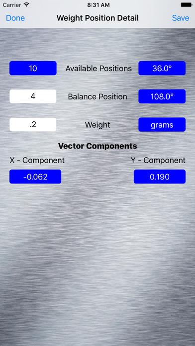 Balance Data