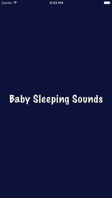 Baby Sleeping Sounds