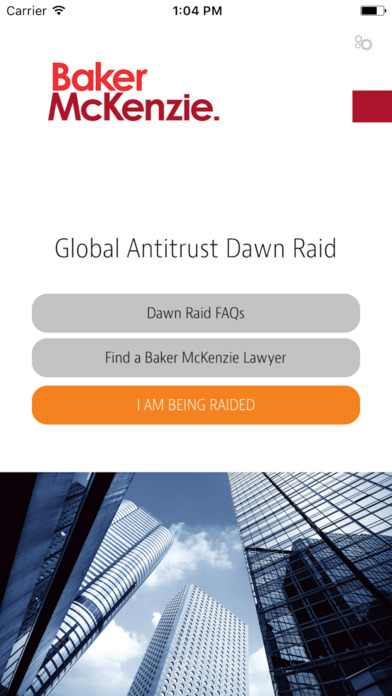 Baker McKenzie Global Antitrust Dawn Raid