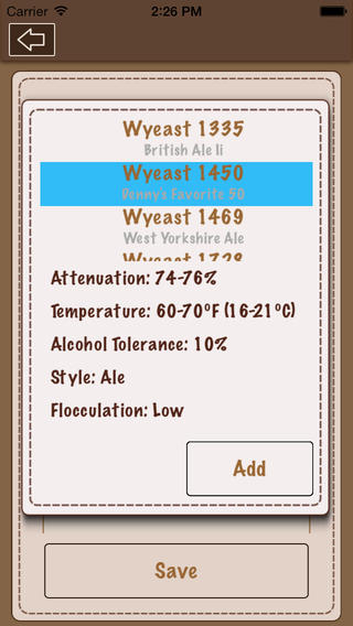 Beer Recipe Calculator Lite