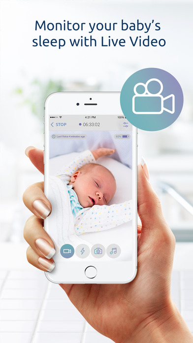 Baby Monitor for iPhone