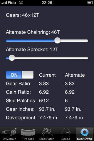 Bicycle Gear Calculator — Bike Gears