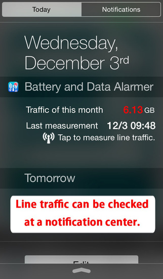 Battery and Data Alarmer