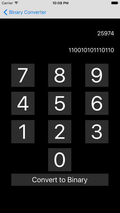 Binary and Decimal Converter