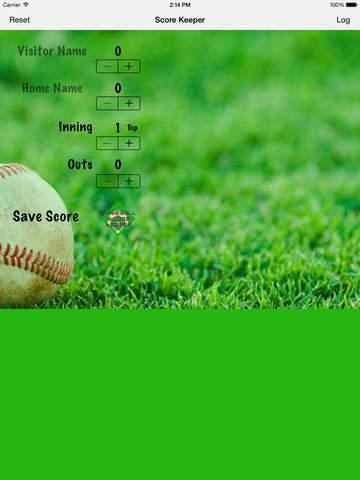 Baseball Score Keeper