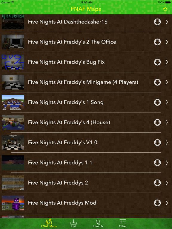 Best FNAF Maps For Minecraft Pocket Edition
