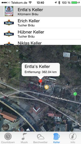 Bergkirchweih Erlangen - Berch Countdown