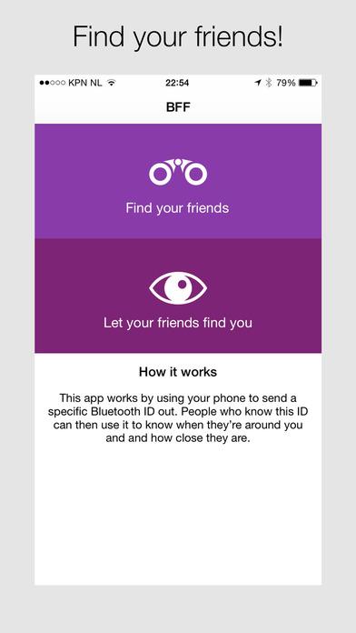 BFF - Locate friends around you