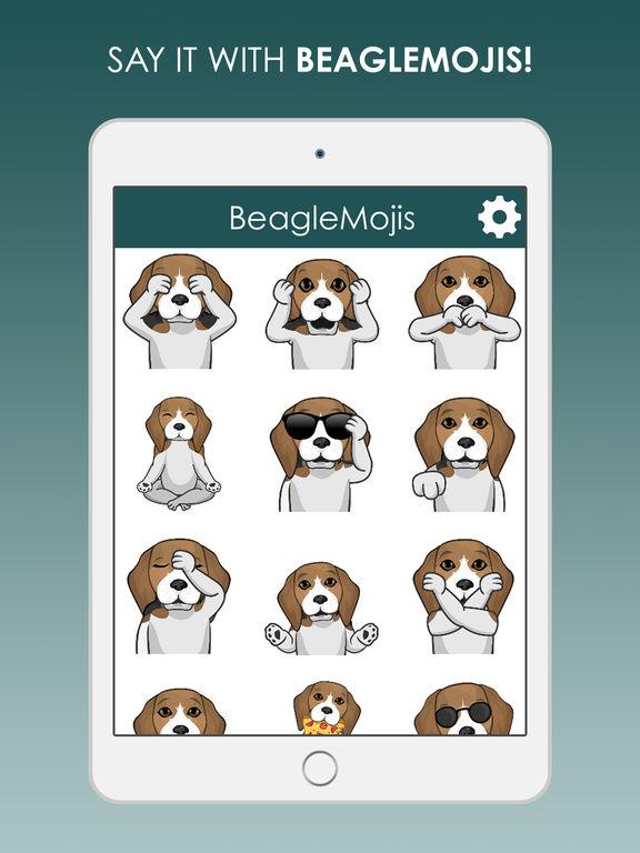 BeagleMojis - Beagle Emojis  Stickers