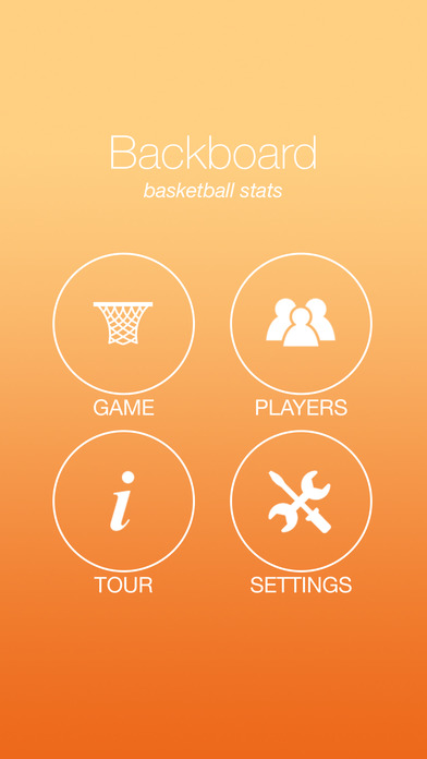 Backboard Basketball Stats