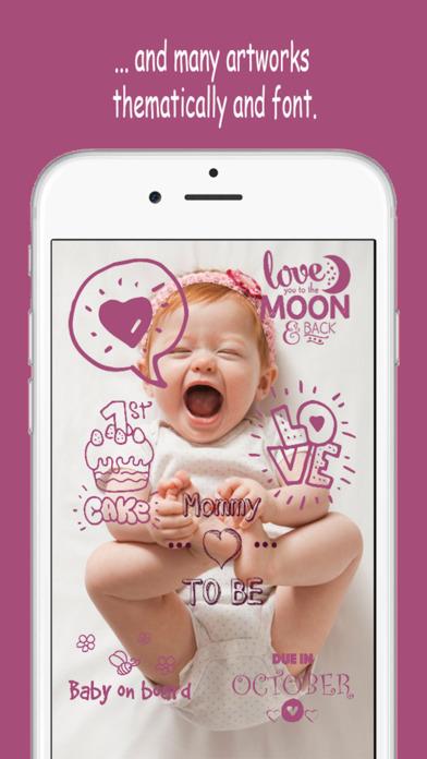 Baby Memories - Pregnancy  Baby milestone photos