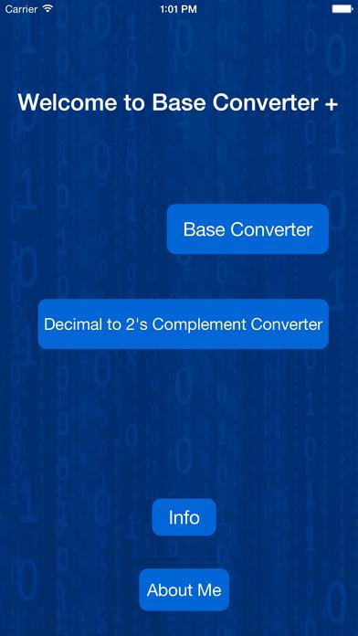 Base Converter +