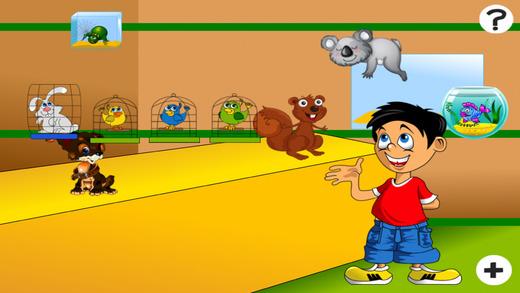 主动! 游戏儿童学习计数,以1-10与宠物