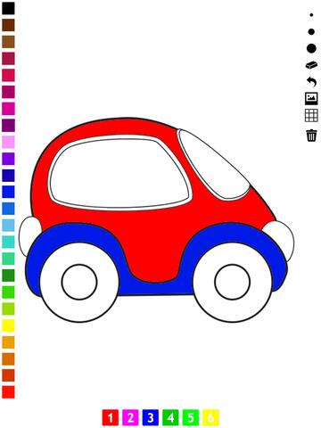 活动! 我的图画书的儿童运输