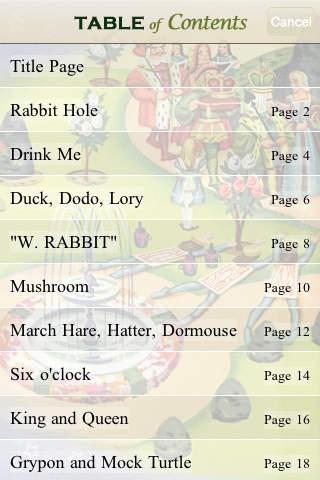 Alice in Wonderland Storybook