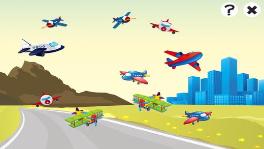 飞机游戏为幼儿学习的幼儿园和幼儿园电脑版