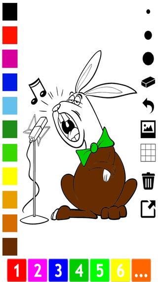 活动! 儿童图画书与动物,唱歌