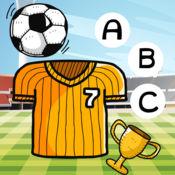 ABC拼写儿童:学习英语阅读与写作与足球世界杯的球员 1
