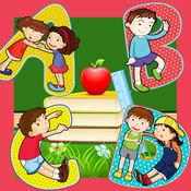 ABC字母学习儿童...