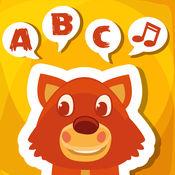 ABC 给孩子的第一句话 倾听,学习,说话 与词汇的英语与动物 1