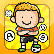 ABC Soccer learning game for children