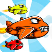 Adrenaline Crush - 卡通飞机飞行员在天空中 1