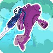 Adventure Robots - 机器人和机器人的战斗在丛林 1