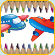 Aircraft Coloring Book 1