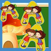 字母排序游戏对于小儿童和婴儿的声音应用 1