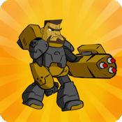 Androids vs Ancients - 机器人士兵战斗古老的生物 1