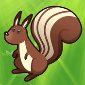 2-5岁儿童的森林动物的游戏。幼儿园,学前班和幼儿园的游戏
