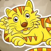 活动! 学习儿童游戏与农场动物玩耍和学习 1