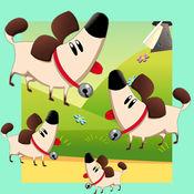 动物儿童游戏:学...