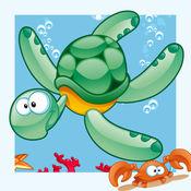 动物在水中在 1